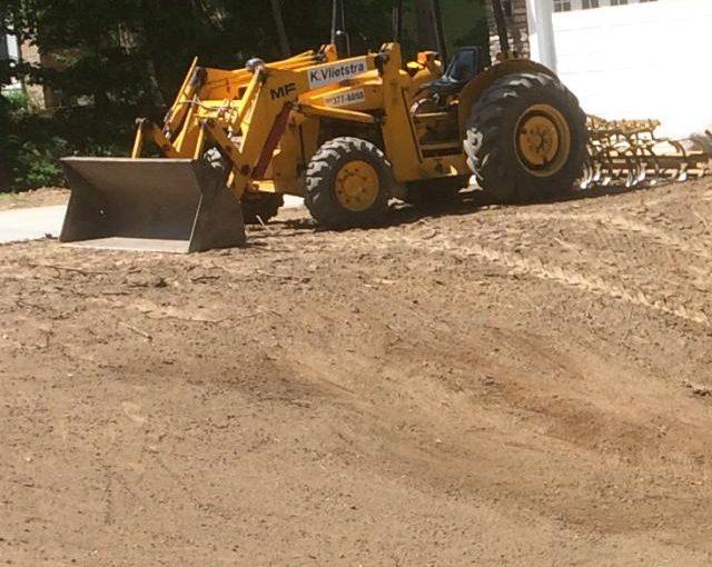 Skid Steer and Tractor Work – K Vlietstra Landscape Services LLC